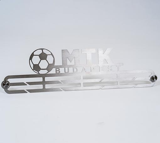 Éremtartó MTK BUDAPEST felirattal és focilabdával